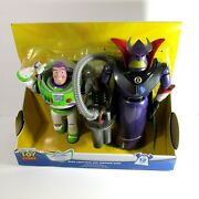 Disney Toy Story Buzz Lightyear And Zurg 15 Inch Talking Action Figures
