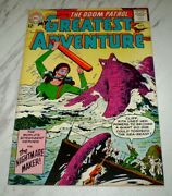 My Greatest Adventure 81 Nm+ 9.6 Ow Pages Unrestored 1963 Dc 2nd Doom Patrol