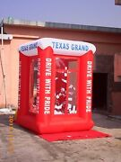 9' Inflatable Cash Cube Money Machine W/blowers Advertising Promotion Your Logoy