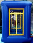 9ft Inflatable Cash Cube Money Machine Advertising Promotion With Blowers Y