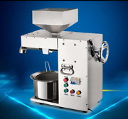 Commercial Electric Hot And Cold High Power Oil Press Machine Stainless Steel Z