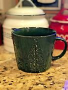 Spruce Tree Mugs Set Of 2 Nwt Christmas Winter Pier 1 Sold Out