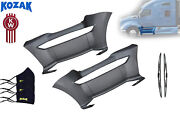 Replacement Front Step Fairing Panel Left And Right Side For Kenworth T680 + Set