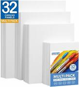 Painting Canvas Panels Multi Pack- 5x78x109x1211x14 8 Of Eachset Of 32