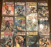 Lot Of 20 The Savage Sword Of Conan The Barbarian