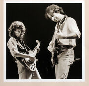 Led Zeppelin Poster Page . The Firm Jimmy Page And Paul Rodgers . H64