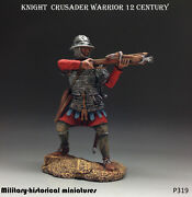 Tin Toy Soldiers Knight Crusader 54 Mm Figurine Metal Sculpture In Stock