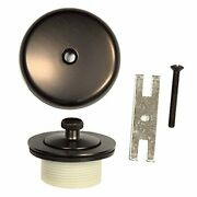 New Lift And Turn Tub Drain Trim Kit With Overflow Oil Rubbed Bronze Universal