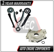 Timing Chain Kit And Oil Pump Fits Ford Excursion E250 F150 5.4l Triton