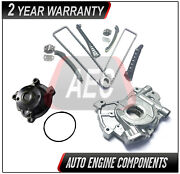 Timing Chain + Water And Oil Pump For Ford Excursion Expedition E150 E250 5.4l