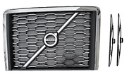 Volvo Truck Vnl 2018+ Replacement Chrome Grille W/ Bug Screen And Volvo Emblem