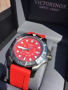 Victorinox Swiss Army Dive Master 500 Automatic 241577 Menand039s Watch With Warranty