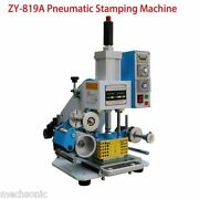 8090mm Printable Area Pneumatic Hot Foil Stamping Machine S