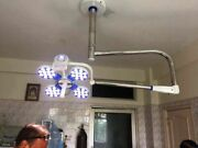 Surgical Operation Lamp Ceiling Mounted Wall Mount Led Ot Orion 4 Single Dome E