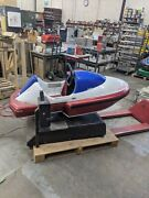 Speed Boat Racing Motor Boat Coin Operated Kiddie Ride Amusement Antique