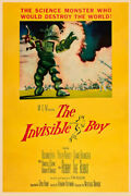 The Invisible Boy 1957 Ii Movie Poster