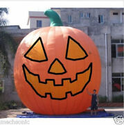 26ft Inflatable Pumpkin Halloween Jack O Lantern Holiday With Blower S