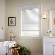 Custom Cut Sizes Home Decorators White Cordless 2 Premium Faux Wood Blinds