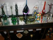 Vintage Mixed Art Glass Collection Pick What You Like Objects Of Art Mid Centur