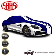Saas Classic Car Cover Indoor For Mercedes Benz Sl R230 Facelift 2008-2012 Blue