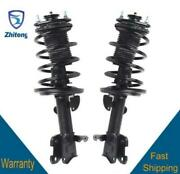Fit For 07-13 Acura Mdx Awd Front 2 Complete Quick Strut And Coil Spring Assembly