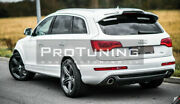 New Rear Boot Lid/ Roof/ Door Spoiler Wing/ Cover A Look For Audi Q7 4l 05-14