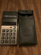 Rare Vintage 1973 Canon Palmtronic Le-83 Red-led Calculator. Working Read