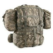 U.s. Military Surplus Molle Field Pack Complete With Frame Used