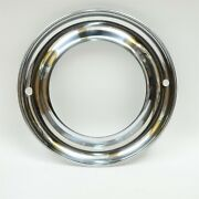 1940s 1950s 15 Wheel Trim Beauty Ring Two Air Valve Holes
