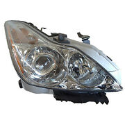 Replacement Headlight Assembly For 08-10 G37 Passenger Side In2503129oe