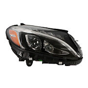 Replacement Headlight For Mercedes-benz Passenger Side Mb2503227