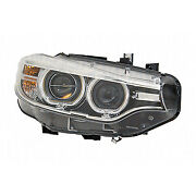 Replacement Headlight For Bmw Passenger Side Bm2519156