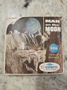 Viewmaster Man On The Moon - 1964 - Antique