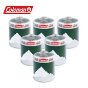 6 X Coleman Value Pack C500 Screw On Gas Cartridges Camping Gas Canisters En417