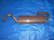 Fiat X 1/9 Stainless Steel Oem Used Exhaust Muffler Fiat Part 4347434/3