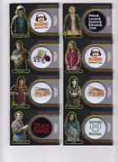 Stranger Things Upside Down Complete 21 Card Button Pin Relic Set