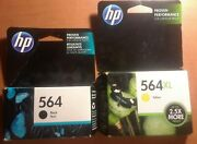 Hp 564 Black And Yellow Ink Combo Cb316wn+cb325wn