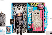 New Lol Surprise Omg Lights Groovy Babe Fashion Doll Same Day Shipping