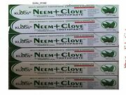 10 X Neem Tooth Paste With Clove Herbal Whitening And Sparkling 100 Gm
