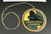 Harry Potter 2001 Screen Used Prop Hogwarts Express Luggage Tag W/ Coa