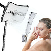 Luxury 4 Setting High Pressure Shower Head Rainfall Jet And Wand Combo With Holder