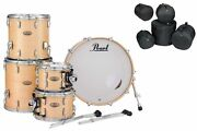 Pearl Session Studio Select Natural Birch 20/10/12/14/16 Drums +bags Auth Dealer