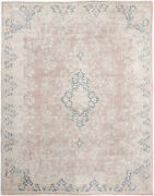 9x12 Hand-knotted Vintage Antique Carpet Oriental Rust Fine Wool Area Rug D57274