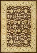 Traditional Hand Made Farhan Area Rug Brown/beige Color Turkish Rugs 10 X 14