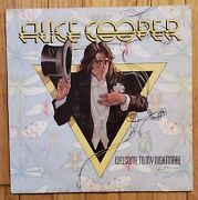 Alice Cooper - Welcome To My Nightmare Us Atlantic Sd 18130 Presswell 1st Lp Vg+