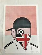 Paul Insect - Clockwork Britain Red Version - Signed And Numbered Edition Of 70
