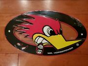 Clay Smith Cams Mr. Horsepower Metal Sign