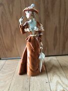 Goebel West Germany Porcelain Woman Figurine Statue The Visitor 1894