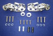 1960-1964 Gm Convertible Sun Visor Supports And Stainless Steel Screw Mounting Kit