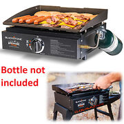 Portable Propane Gas Grill 17 Stainless Steel Barbecue Rv Camp Backyard Bbq